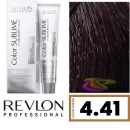 Revlon - Tinte Revlonissimo COLOR SUBLIME (sin amoniaco) 4.41 Castaño Marrón Profundo 75 ml