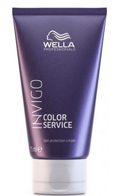 Wella Invigo - Crema protectora COLOR SERVICE antimanchas de tinte 75 ml