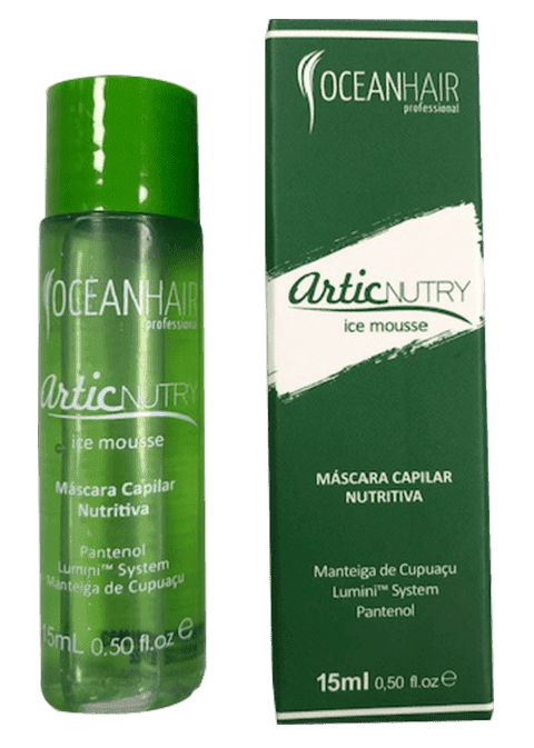 Ocean Hair - Botox Capilar ARTIC NUTRY Tratamiento Mousse 15 ml
