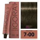 Schwarzkopf - Tinte COLOR Igora 10 Minutos 7-00 Rubio Medio Natural Intenso 60 ml