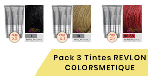 PACK 3 TINTES REVLON COLORSMETIQUE